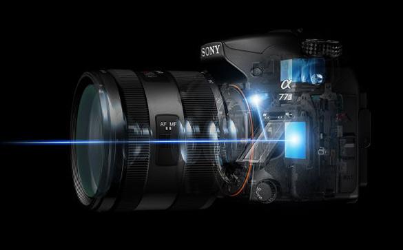 اجزای اصلی درون یک دوربین DSLR